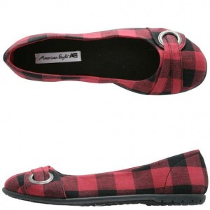Cute fall shoes--plaid flats