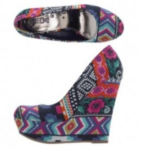 Love these wild wedges from Brash!