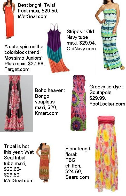 Cute maxi dresses for summer