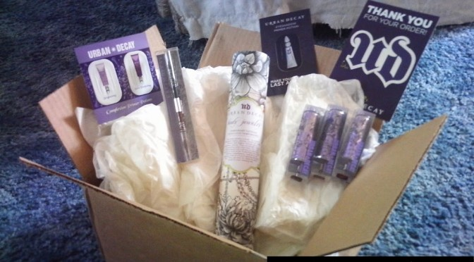 My Urban Decay order arrived! Lipstick swatches + mini reviews (photo heavy)