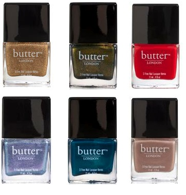 butter LONDON was founded in with a view of selling prestige beauty products and focusing on nail lacquers. These days, butter LONDON still has one of the highest quality selections of nail lacquers of any beauty retailer, with styles that are bright, dark, glitter, pastel and more.