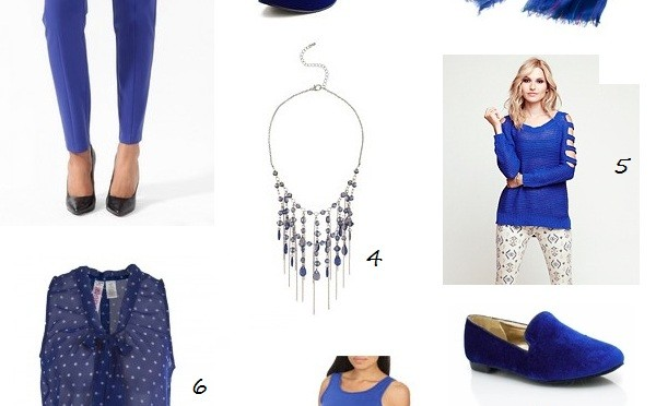 Fall trend: cobalt blue