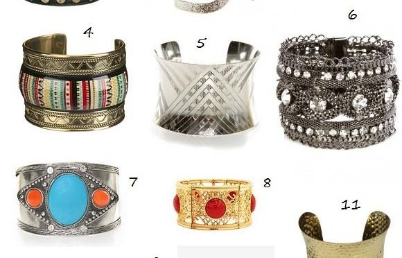 Fall trend: cuff bracelets