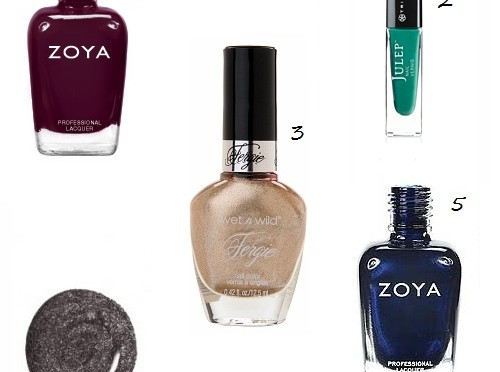 Five hot nail colors to fall for this season
