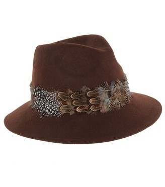 Accessory Friday: feathered fedora