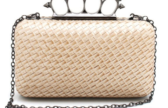 Accessory Friday: a badass rock-chic clutch