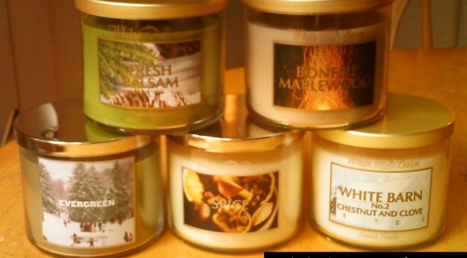 Bath and Body Works 3-wick candle HAUL and review