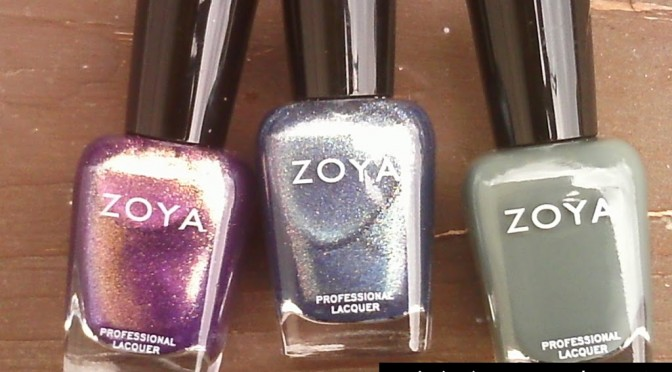 Some new Zoya polishes to show you…