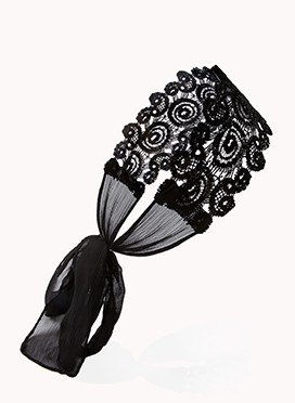 Accessory Friday: lace headwrap