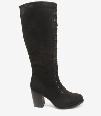 Cute Shoe Monday: tall lace-up boots