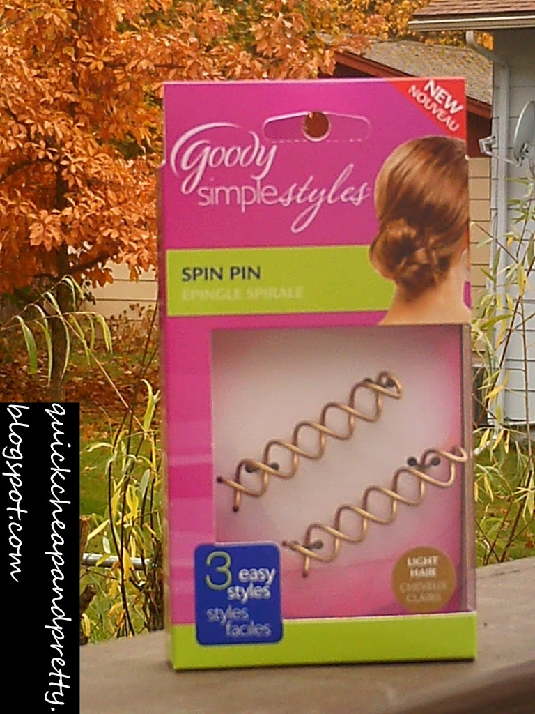 Product Review Goody Simple Styles Spin Pin An Unwritten Life