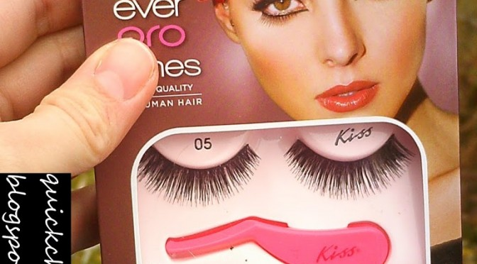 Product review: Kiss Ever Pro Lashes Starter Kit
