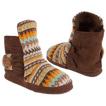 Cute Shoe Monday: Fair Isle slipper boots