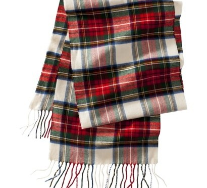 Accessory Friday: tartan scarf