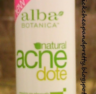 Product review: Alba Botanica Natural Acne Dote Deep Pore Wash