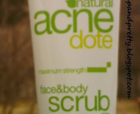 Product review: Alba Botanica Natural Acne Dote Face & Body Scrub