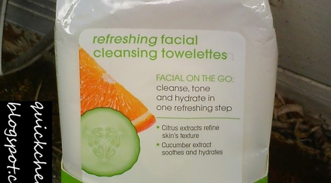 Product review: Giovanni Refreshing Facial Cleansing Towelettes