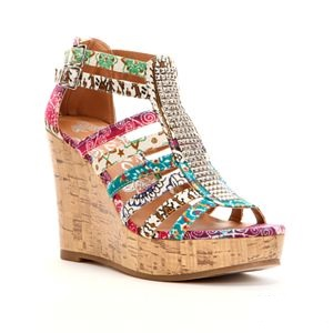 Cute Shoe Monday: wild wedges