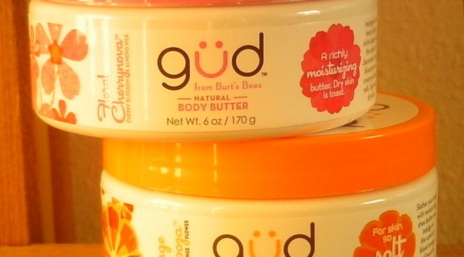 [CLOSED] GIVEAWAY! Two Gud by Burt's Bees body butters (open internationally through 4/29)