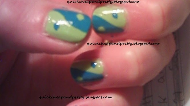 Totally Doable I Have A Life April Nail Art Challenge: Day 22: Earth Day