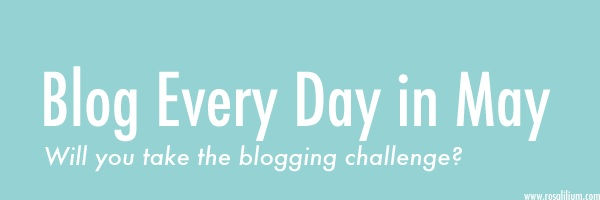 Blog every day in May x2: Day 14