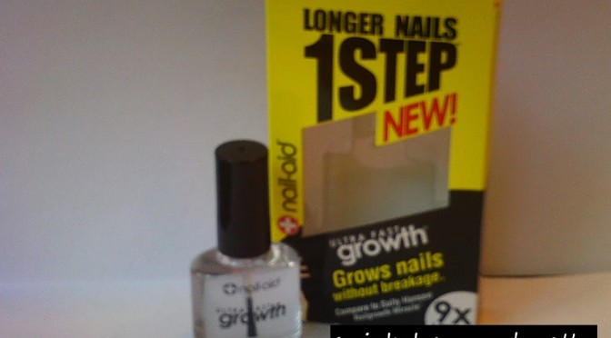 Product review: Nail-Aid Ultra Rapid Growth