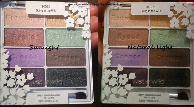 [CLOSED] INTERNATIONAL GIVEAWAY: Wet n Wild limited edition SS13 eyeshadow palette (3 winners!)–open thru 5/15