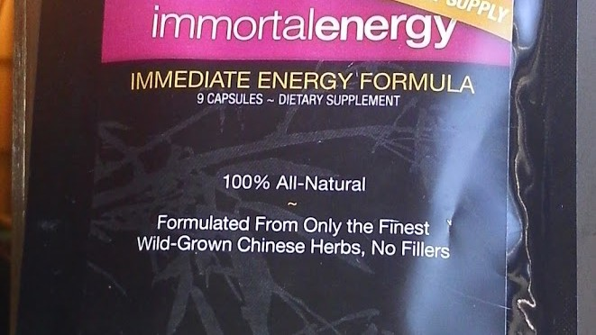 Product review: Immortal Energy