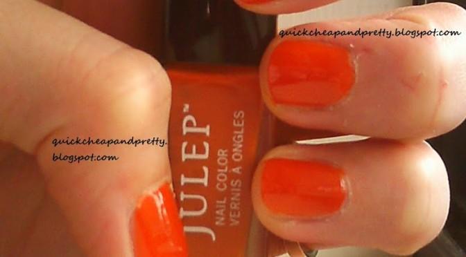 Busy Girl Nails Fall Nail Art Challenge: Week 4: Orange