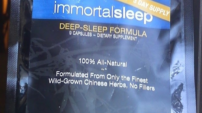 Product review: Immortal Herbs Immortal Sleep