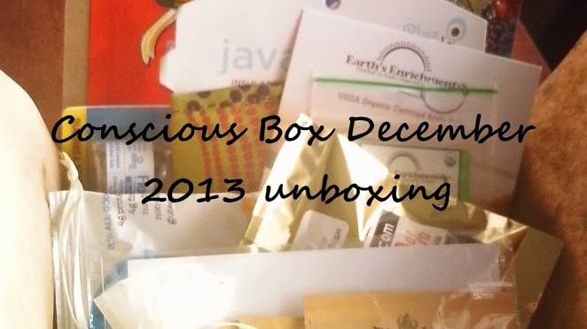 Unboxing: Conscious Box December 2013