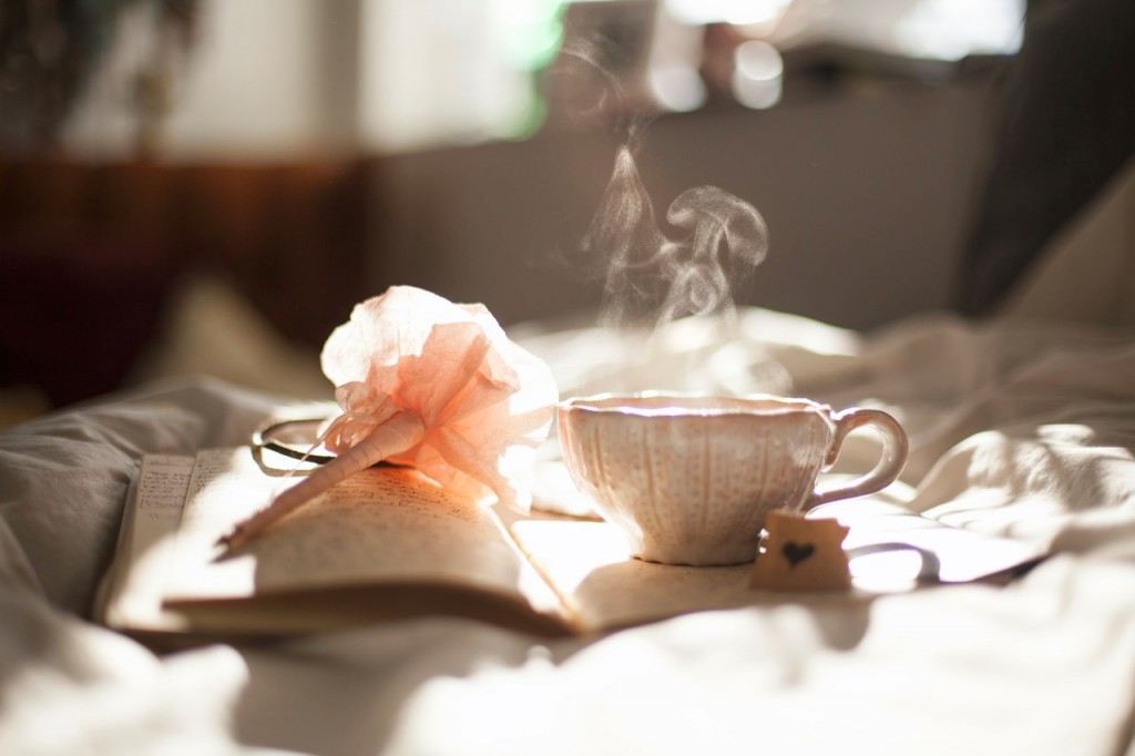 Tea cup and journal photo by Carli Jean Miller.