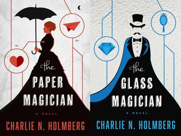 The Paper Magician/The Glass Magician, by Charlie Holmberg