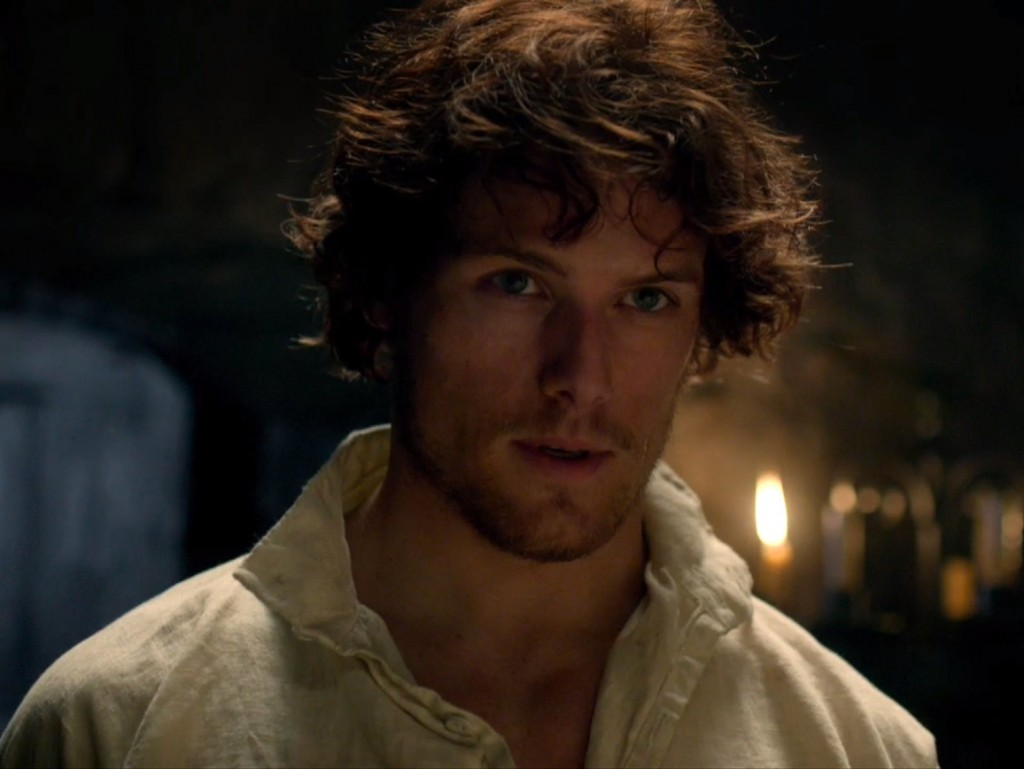 Top Ten characters who looked nothing like I pictured in their TV/movie adaptations: Sam Heughan as Jamie Fraser in 'Outlander'
