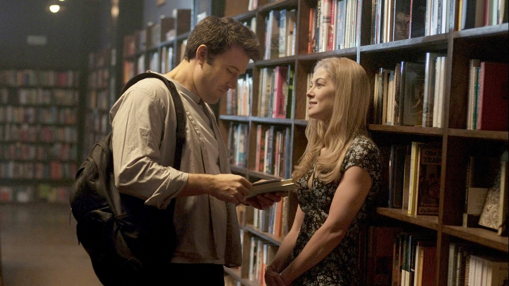Top Ten characters who looked nothing like I pictured in their TV/movie adaptations: Ben Affleck and Rosamund Pike as Nick and Amy from 'Gone Girl'