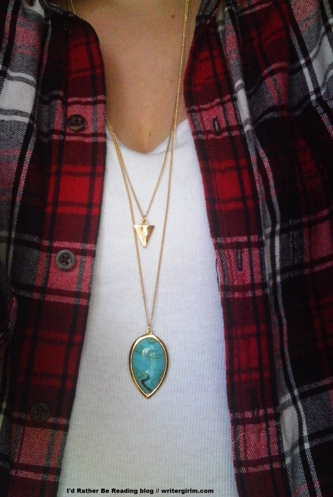 I love this Jules Smith Double Tear Drop necklace that arrived in my latest Rocksbox!