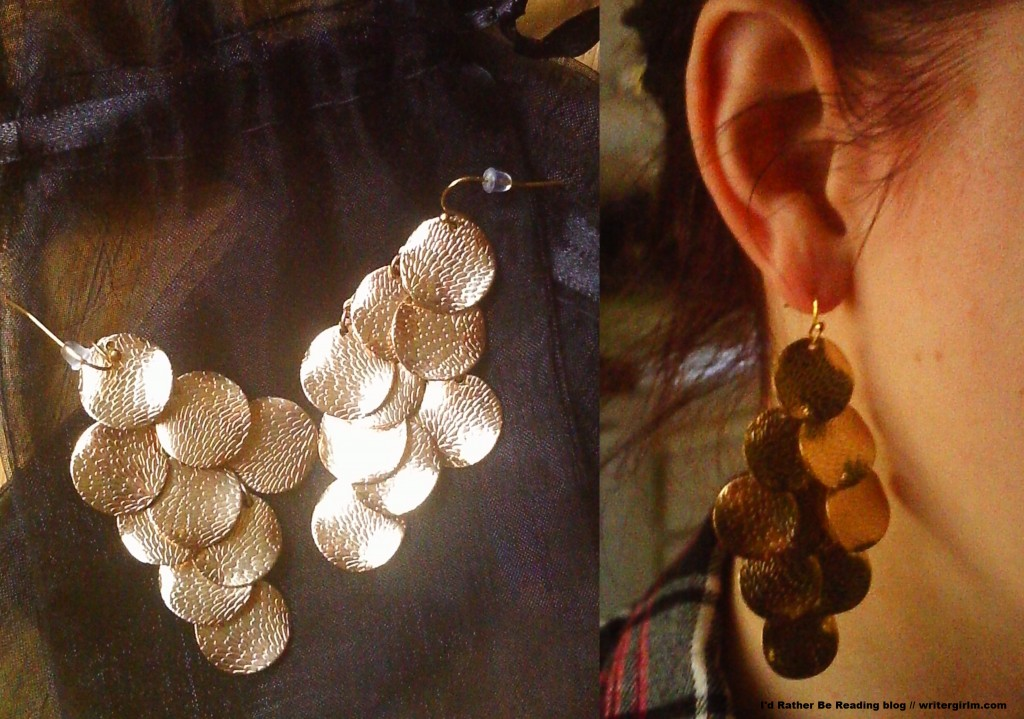 These Jules Smith Coin Earrings (from my latest Rocksbox) make me feel like a Bollywood extra (in a good way!).
