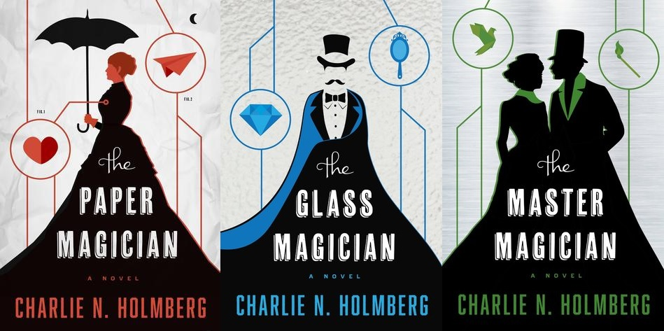 The Paper Magician trilogy