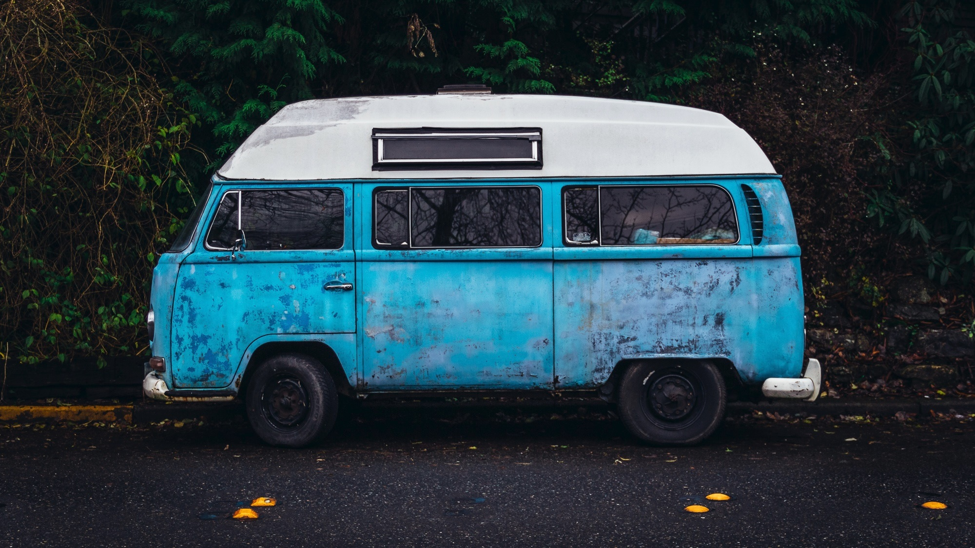 Old VW van