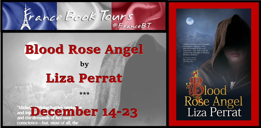 Blood Rose Angel book tour