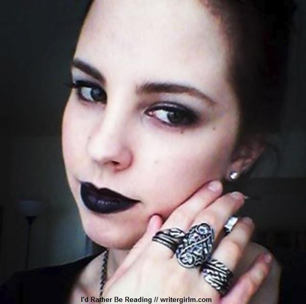 Steampunk vampire hunter (goth black #OOTD)