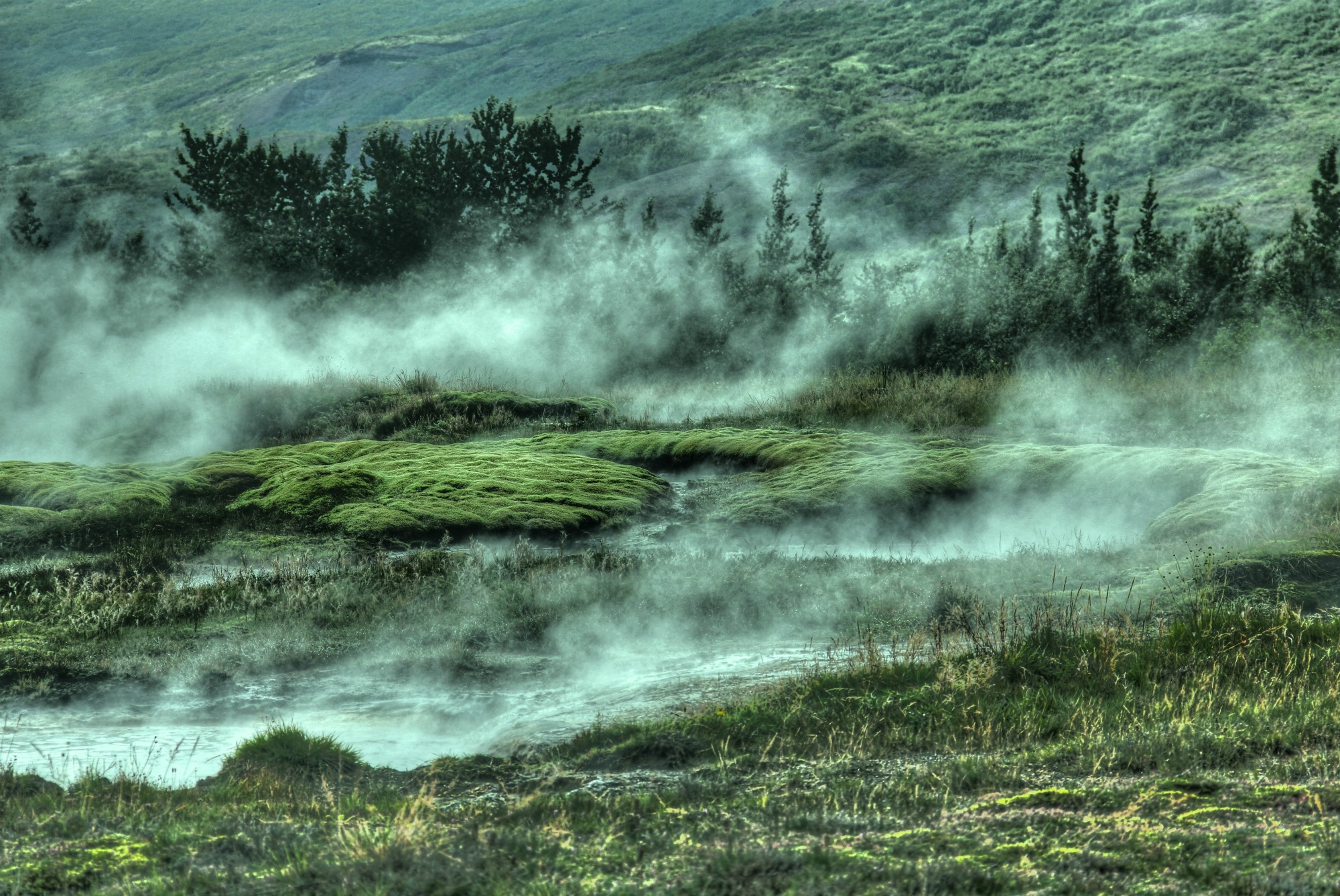 Strokkur Geyser, Iceland (Thought Questions 295-301)