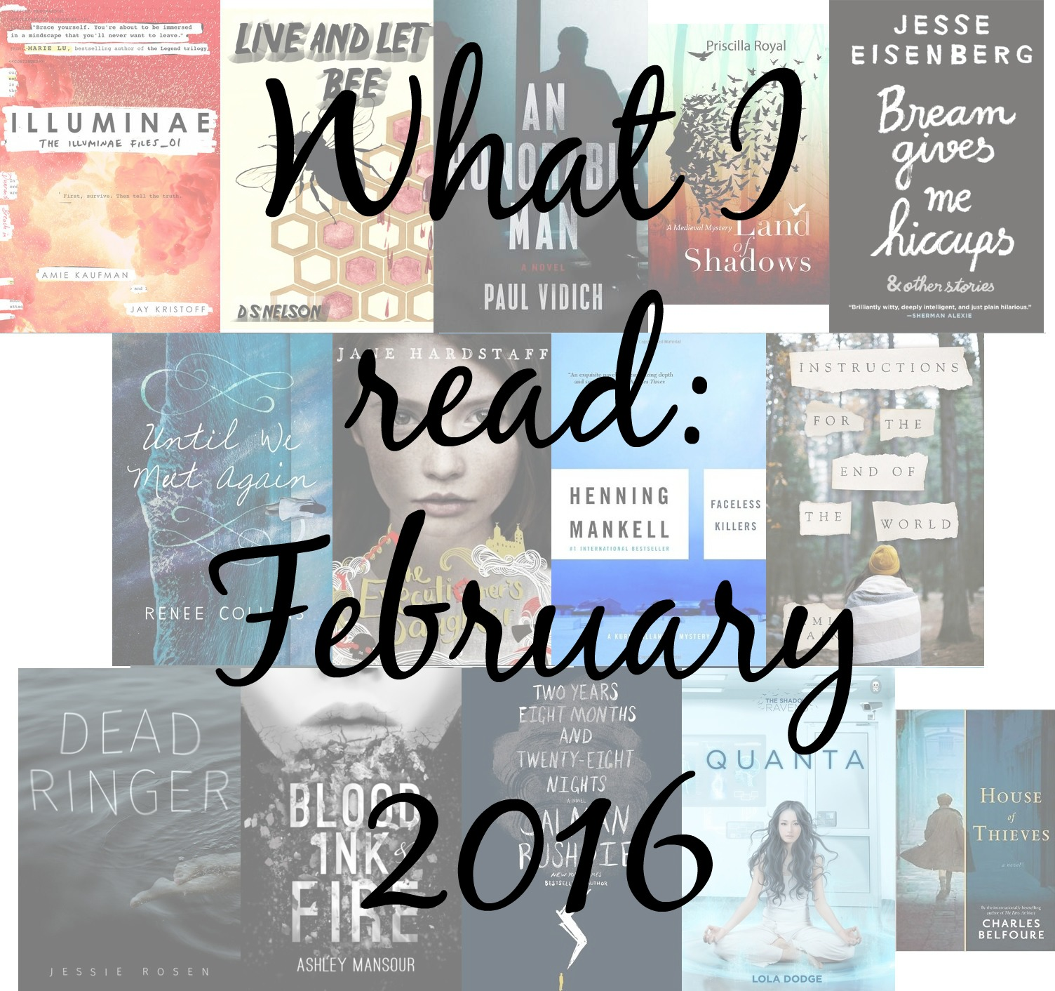 What I read in February 2016