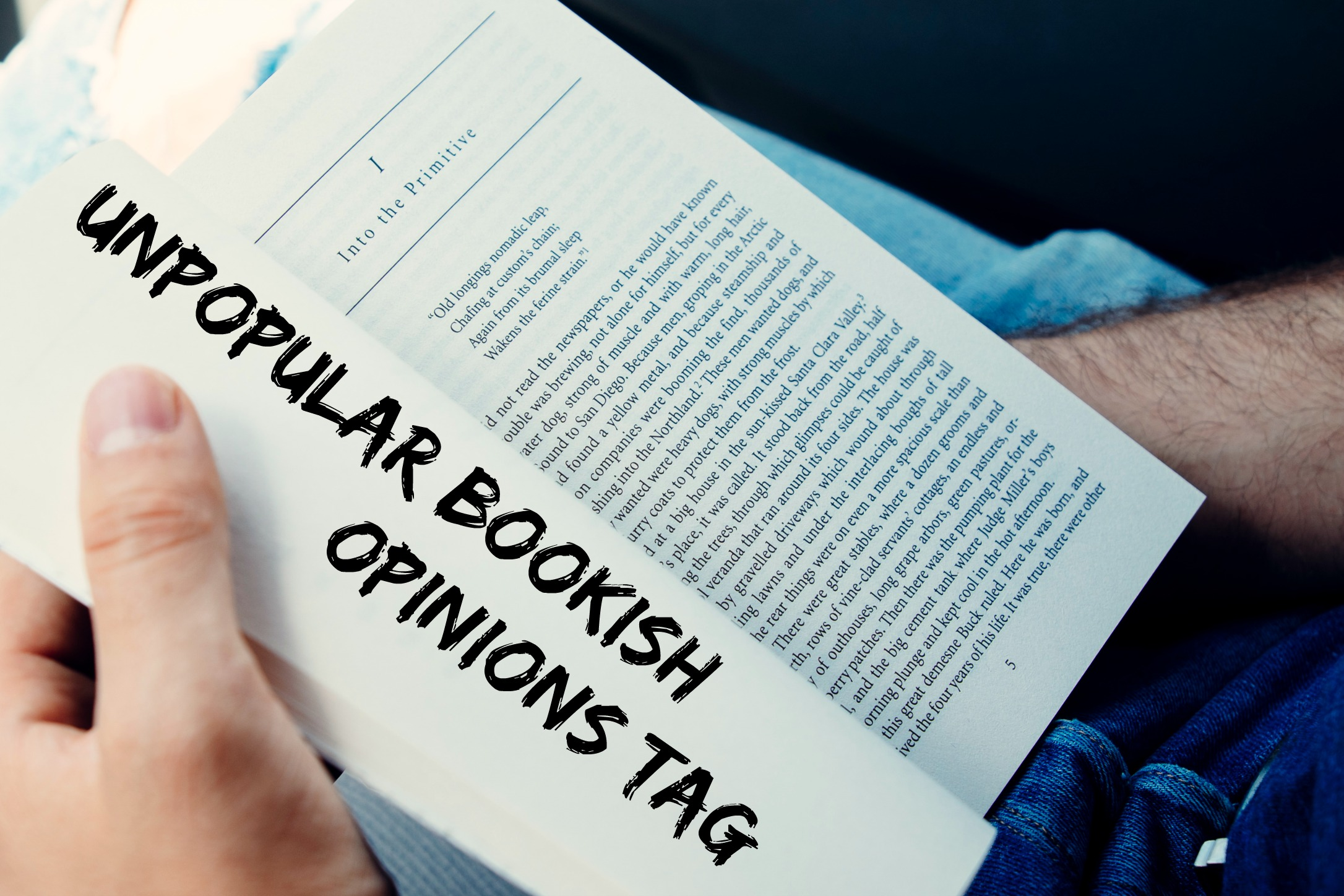 Unpopular bookish opinions tag