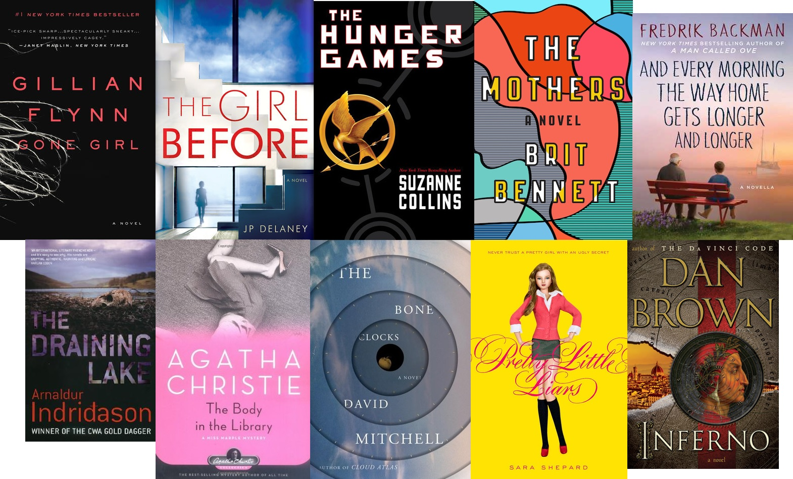 Top Ten Tuesday: Books I just had to devour in one sitting