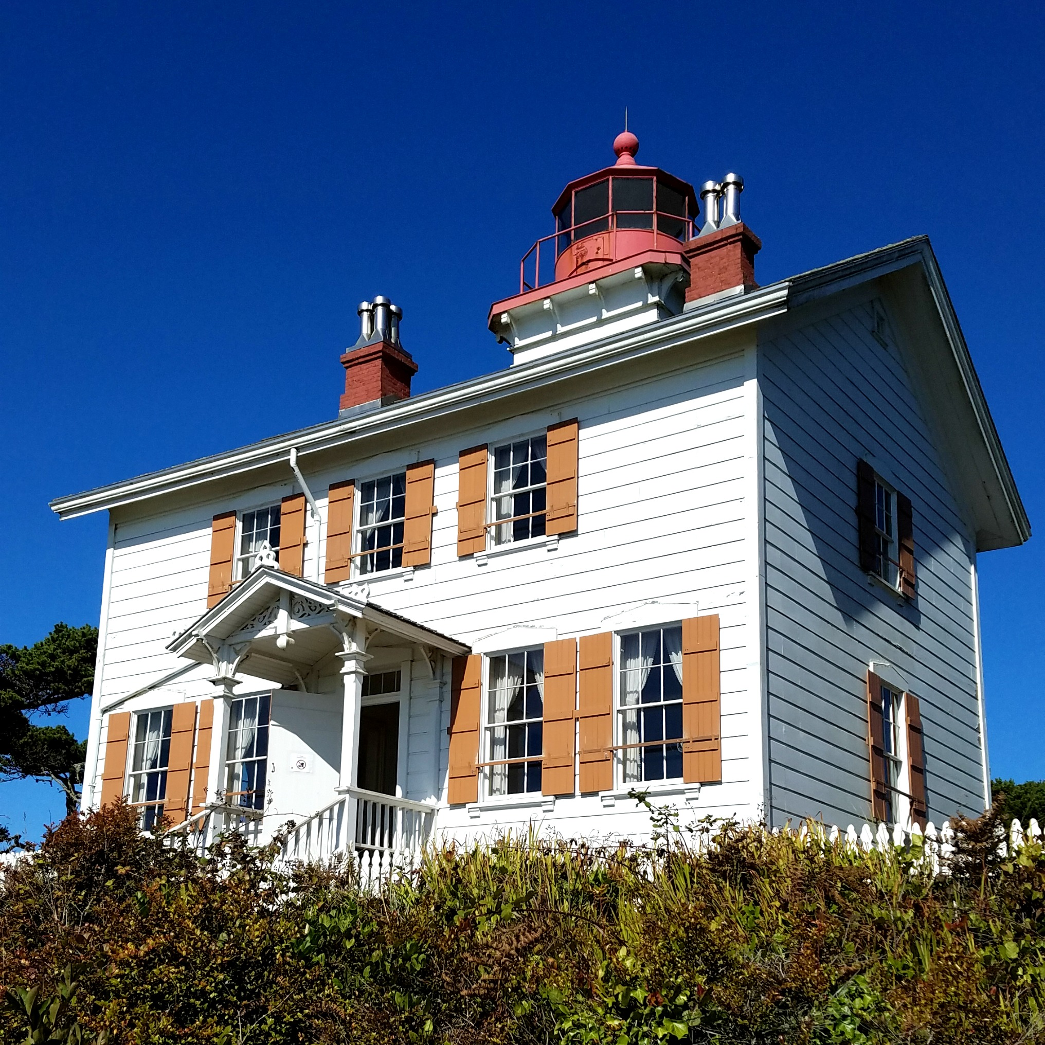 Yaquina Bay Lighthouse near Newport, Oregon